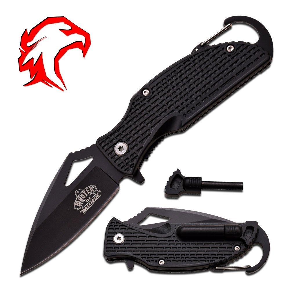 ハンティングナイフwith Fire Starter。SmallサバイバルまたはレスキューナイフFits inポケット。 B018WIH072