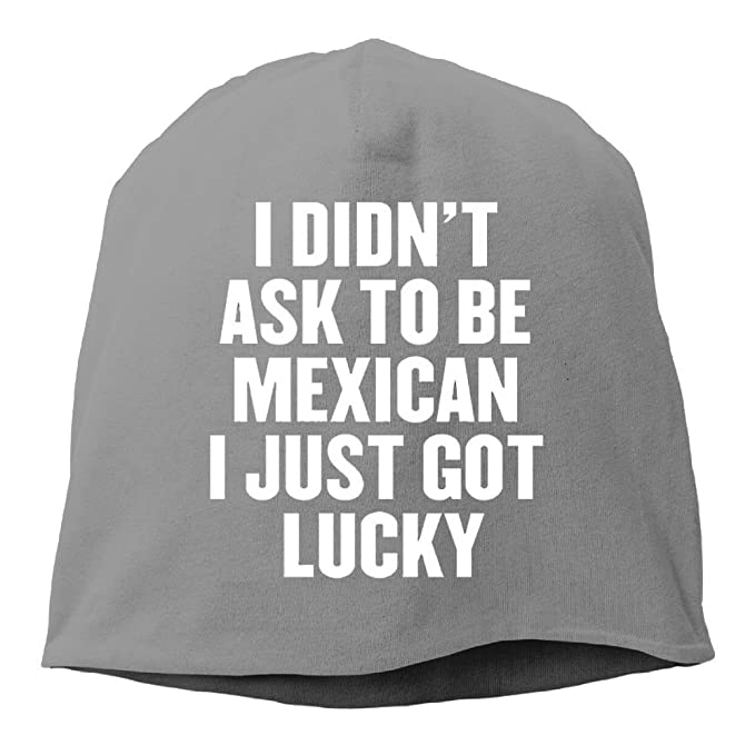 97ba920da8 Amazon.com  I Didnâ€t Ask To Be Mexican I Just Got Lucky New Winter ...