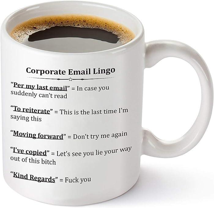 Top 10 Office Coffee Mug Corporate Logo