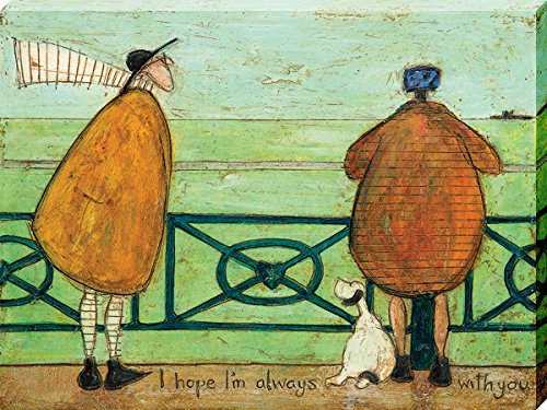The Art Group Sam Toft I Hope I'm Always With You Canvas Print, ()
