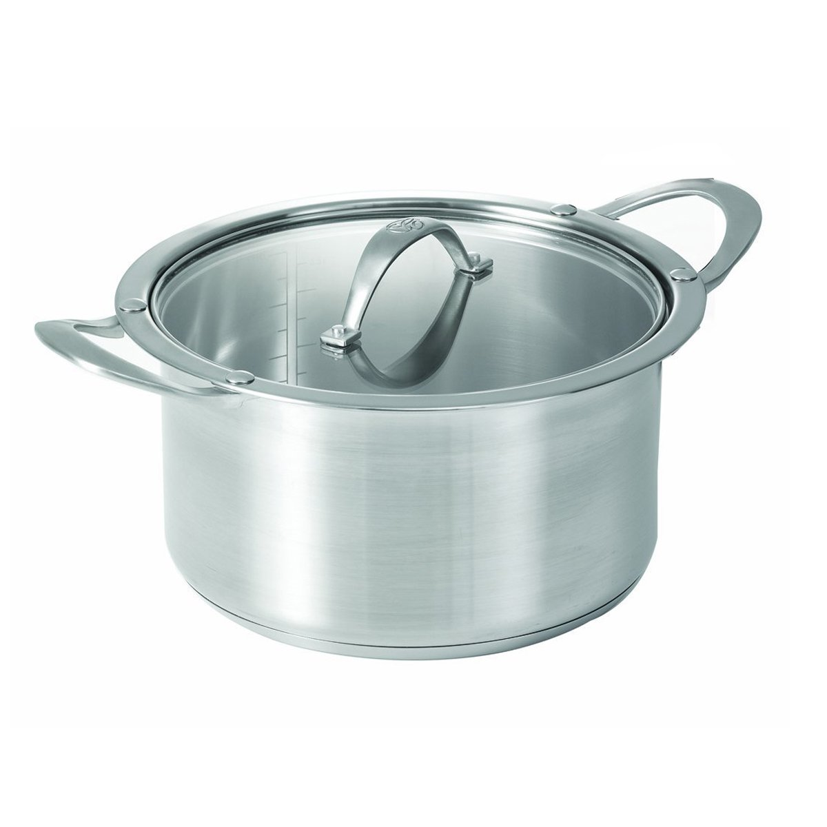 CAT CORA by Starfrit Stainless Steel Cook N Serve Casserole, 2-1/2-Quart