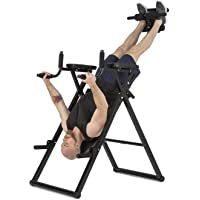 Klarfit Power-Gym • Table d'inversion • Banc lombaires • 6-en-1-Multitrainer • Entraînement inversion, pompes, squats, tractions, dips & abdos • jusque 120 kg • réglable • noir