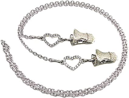 Eyeglasses or Mask chain silver chain or lanyard for mask wearers and reading glasses