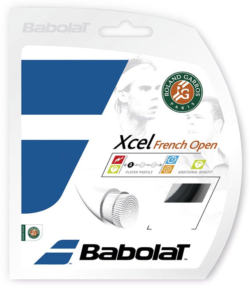 Babolat Xcel French Open 16 Tennis String Black