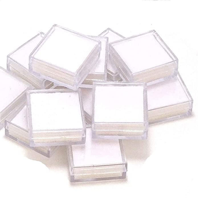 20 Pieces Plastic Boxes in one packet To Keep Loose Gems  Billion White