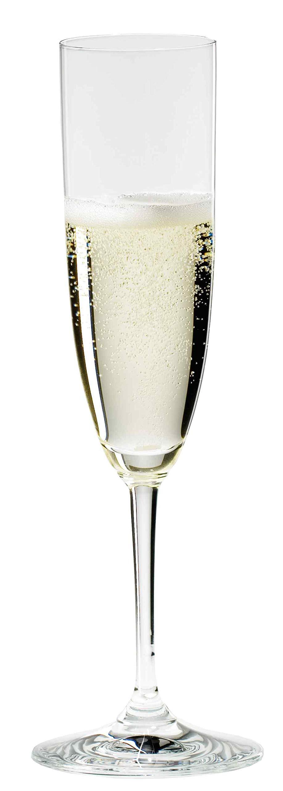 Riedel Vinum Champagne Glasses, Set of 6