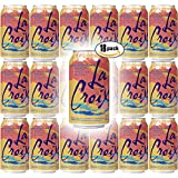 LaCroix Grapefruit Pamplemousse Naturally Essenced Flavored Sparkling Water, 12 oz Can (Pack of 18, Total of 216 Oz)