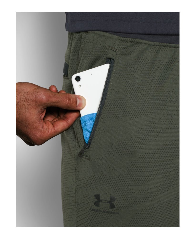 Under Armour Men's Sportstyle Joggers, Downtown Green /Silver, XXX-Large by Under Armour (Image #4)