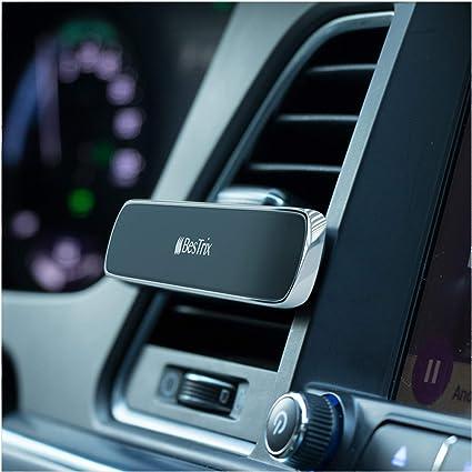 Bestrix Magnetic Phone Holder for Car Air Vent Super Strong Magnet Elegant /& Luxury Design Compatible with All Smartphones /& Mini Tablets 4335022212