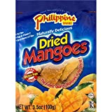 Phillippine Brand Naturally Delicious Dried Mangoes Tree Ripened 3.5 oz 20 Pack