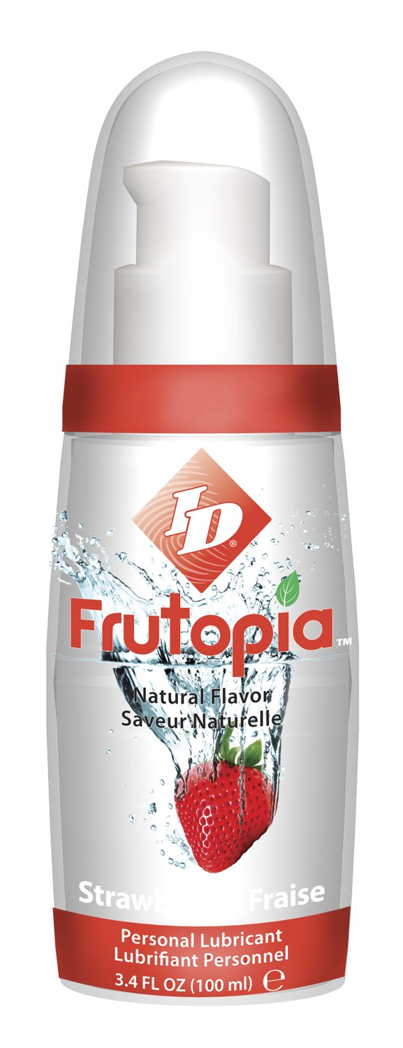 ID FRUTOPIA NATURAL STRAWBERRY 3.4 OZ by id lube