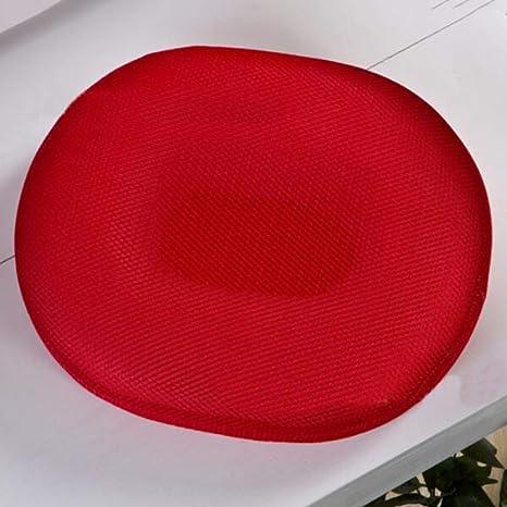 Amazon.com: Cojín redondo para silla de oficina, diseño ...