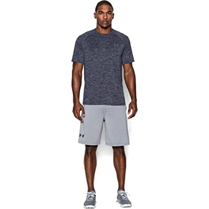 14820d40c7 Amazon.com   Under Armour Men s Tech Short Sleeve T-Shirt   Sports ...