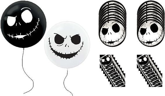 Amscan International 2902701 38 x 40 cm Orbz Jack Skellington ballons