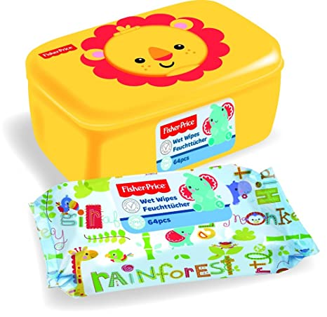 Toallitas + Dispensador Box – Fisher Price