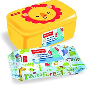 Toallitas + Dispensador Box – Fisher Price: Amazon.es: Bebé