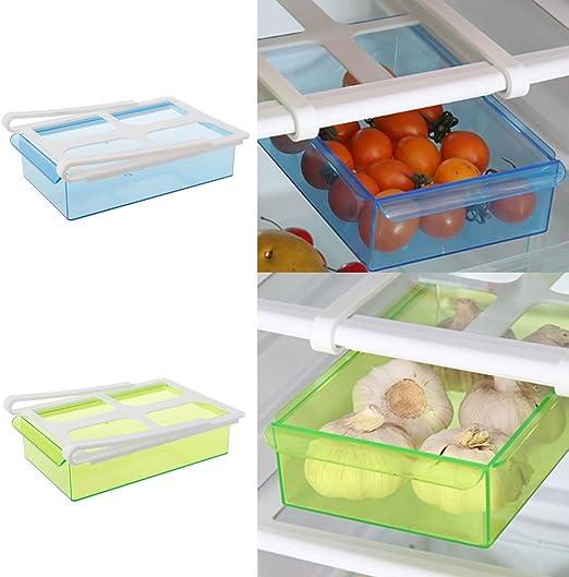 Milue Slide Cocina Nevera Congelador ahorrador del Espacio de ...