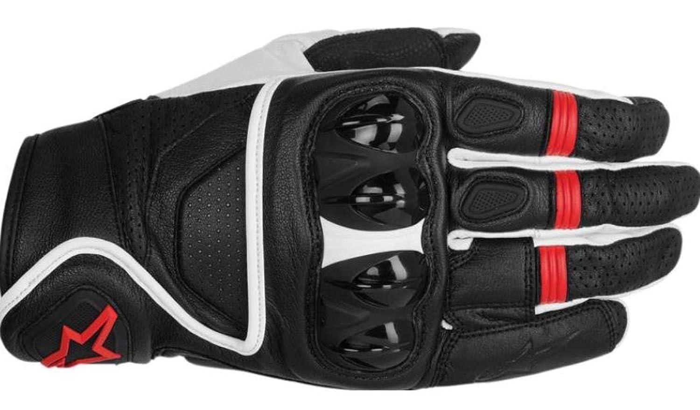 Alpinestars Celer Mens Street Motorcycle Gloves Black//White//Red//Medium 8051194547811