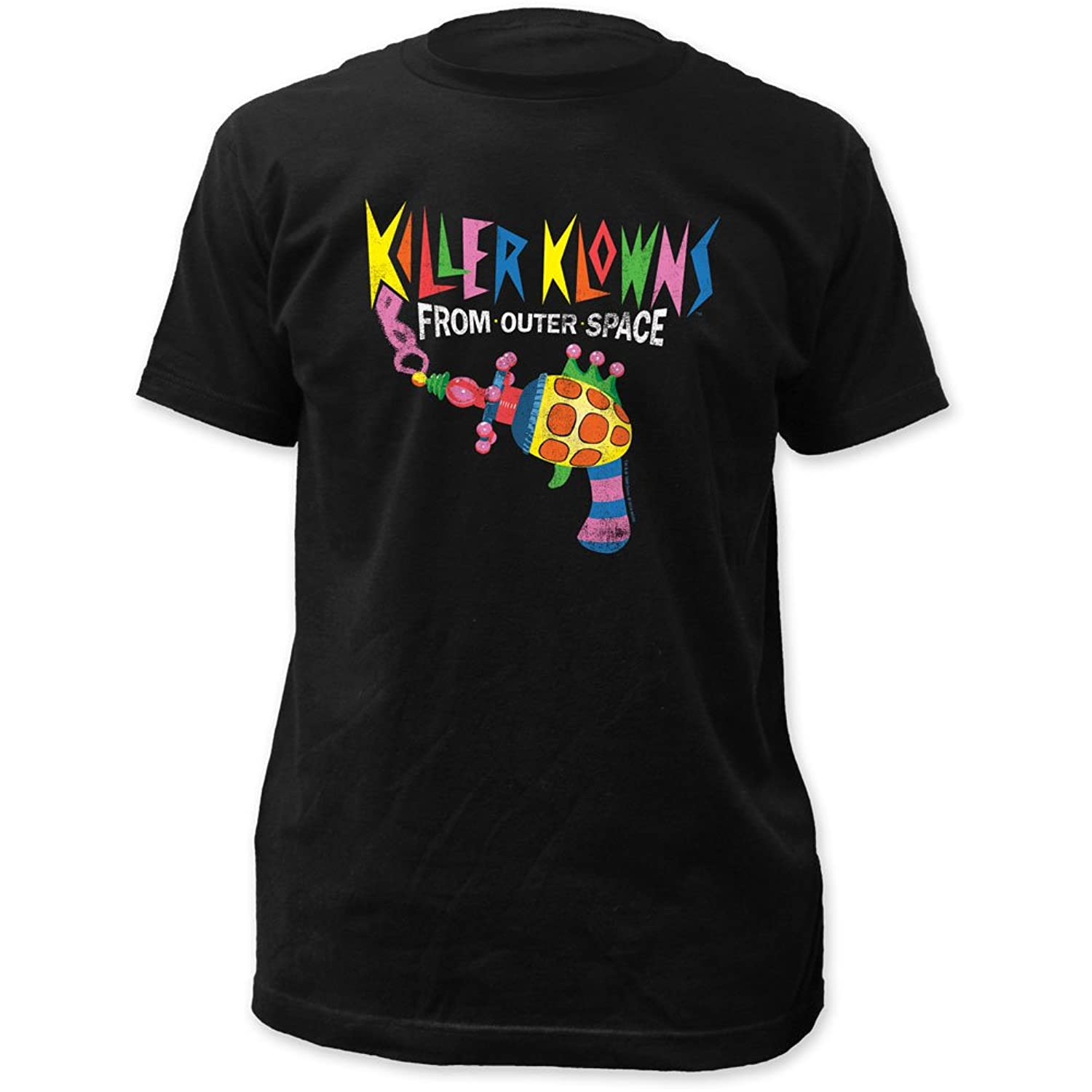 Killer Klowns From Outer Space - Mens Popcorn Gun Fitted T-Shirt