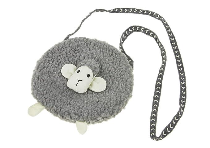 Amazon.com: YLucky - Bolso de felpa para niñas (tamaño ...