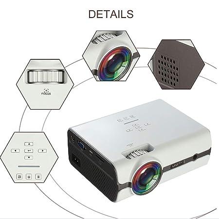 HLKYB Proyector para el hogar, proyector portátil ...
