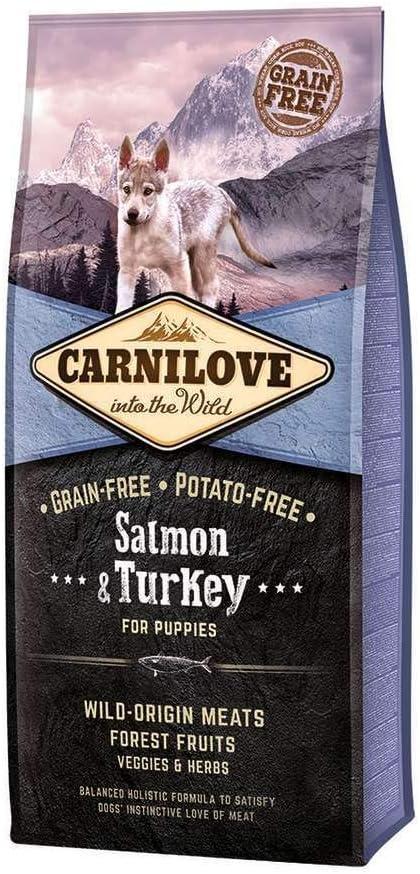Carnilove Canine Puppy Salmon Pavo 12Kg 12000 g