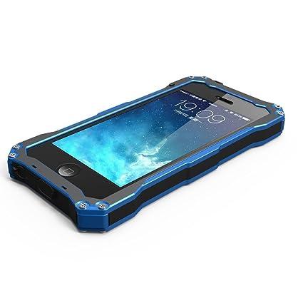 sports shoes 2df8e dcc1c Amazon.com: iPhone 5S Case, SCENG [ALUMINUM BUMPER] iPhone 5S Metal ...