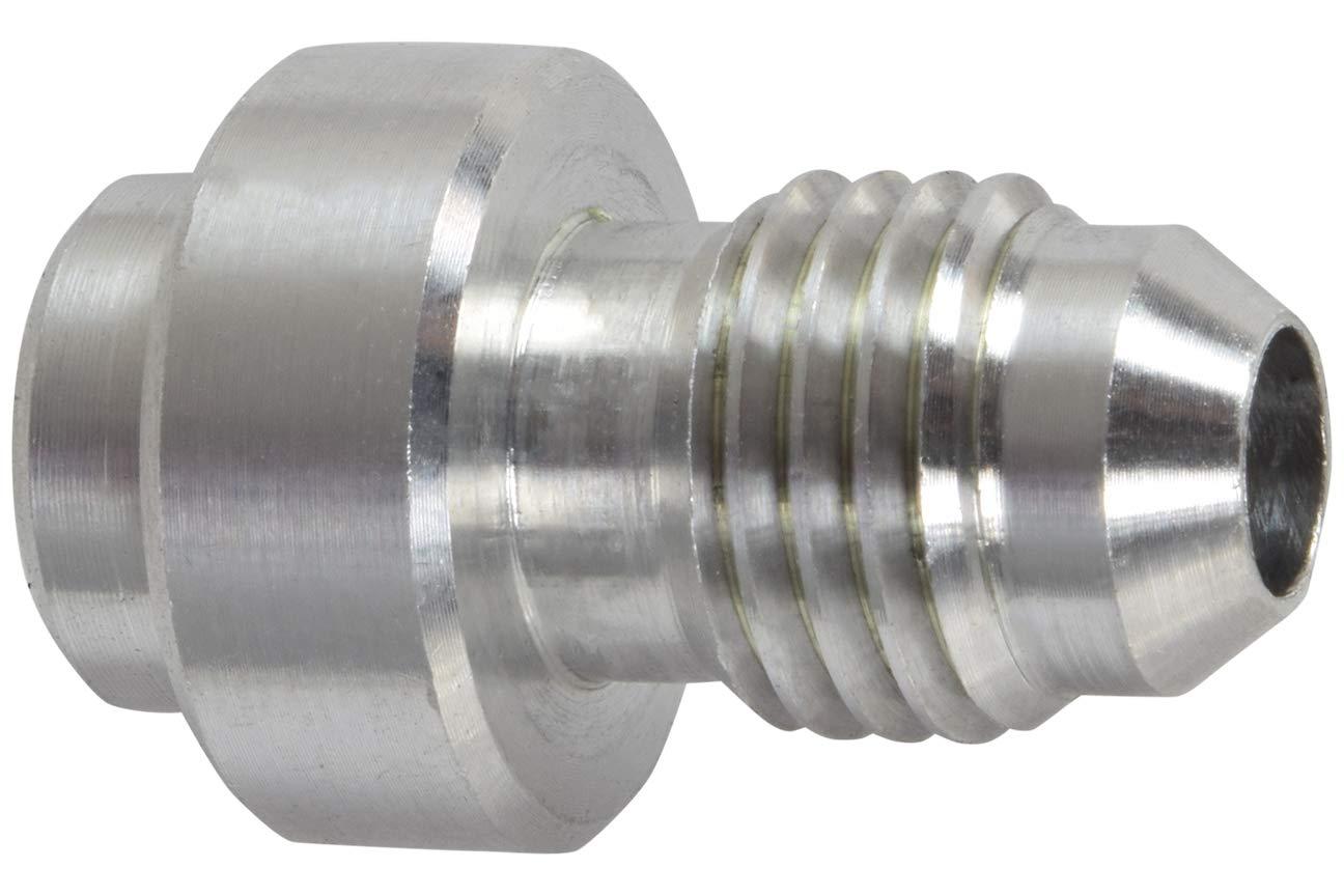 Aluminum -4AN Weld On Bung Male Hose End Nipple Weldable 4 AN, AN970-04A ICT Billet
