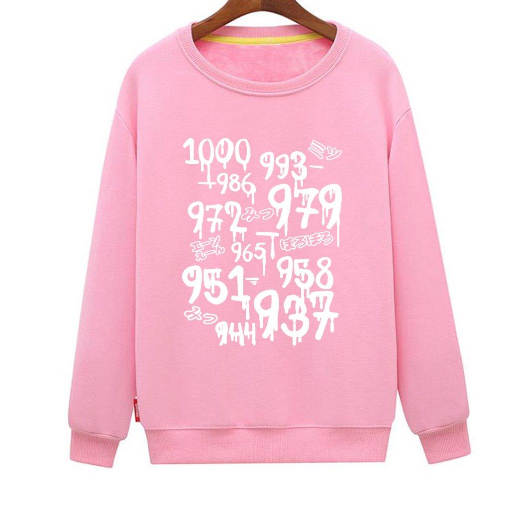 Mens 1000 Minus 7 Cool Novelty Anime Sweatshirt