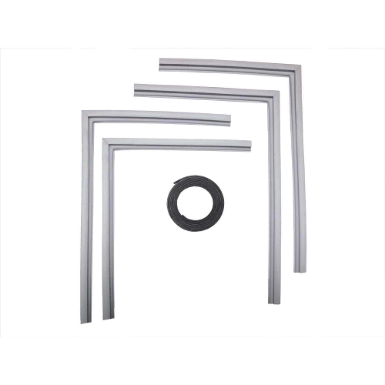 Supco SU2001 Refrigerator Door Gasket Kit, Includes Magnetic Insert Strip - Designed To Fit Most Brands