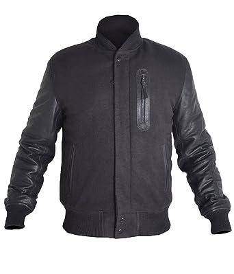 ab2f978a7c8255 TOFFHUB Michael B Jordan Battle Adonis Creed Jacket with PU Sleeves (XXS)  BLACK
