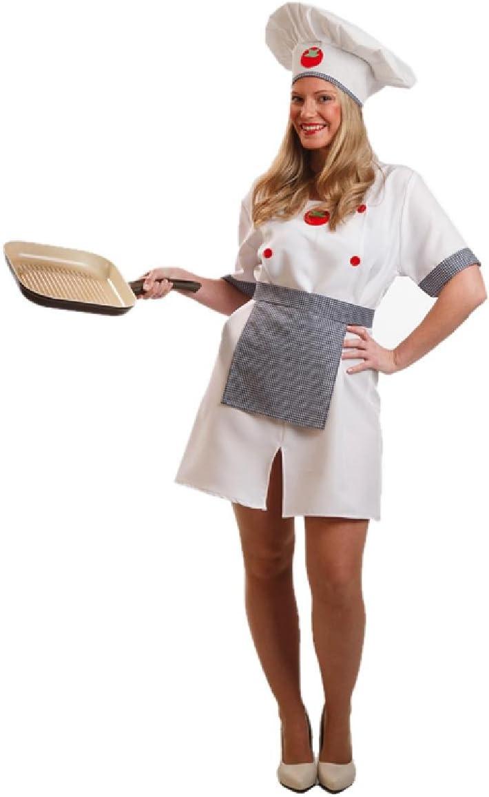 Disfraz de Cocinera para mujer: Amazon.es: Juguetes y juegos