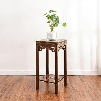 Blumenständer Bambus Multi-Layer-Blumenständer Innen Wohnzimmer ...