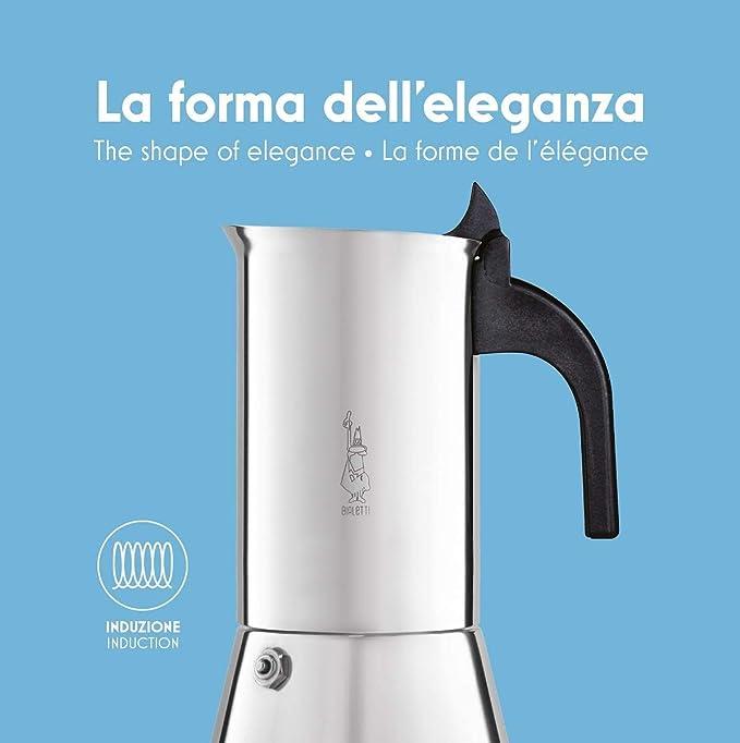 Bialetti Venus - Cafetera Italiana Espresso, Acero, Plateado, 6 ...