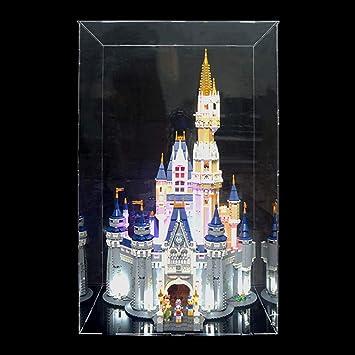 Acrylglas Vitrine Haube für LEGO Modell  Disney Schloß