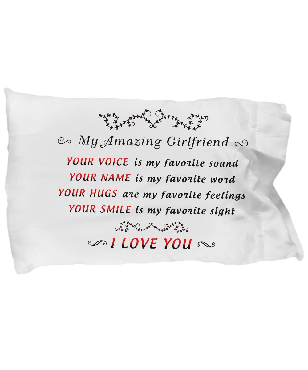 Amazon Girlfriend Gifts Pillow Case