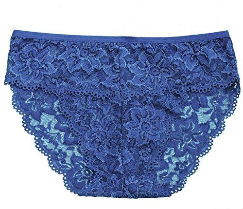 Sheer Lace Bikini Panty - 1