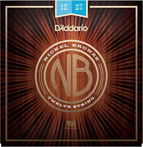 【10セット】D'Addario ダダリオ NB1047-12 12弦アコースティックギター弦 B01M0RNWFS
