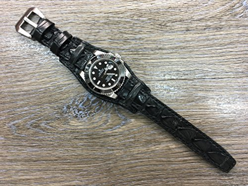 real-leather-cuff-watch-band-alligator-cuff-watch-band-alligator-watch-band-leather-cuff-watch-strap