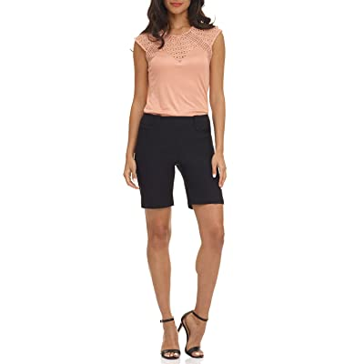 Rekucci Women's Ease into Comfort Perfection Modern Office Short | Amazon.com