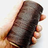 Dow ILJILU 284yrd deep brown Leather Sewing Waxed