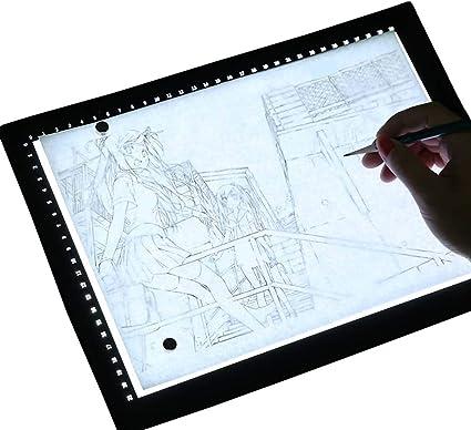 Copy Board Mesa de Luz Dibujo A4 LED Caja de luz Artista Dibujo ...