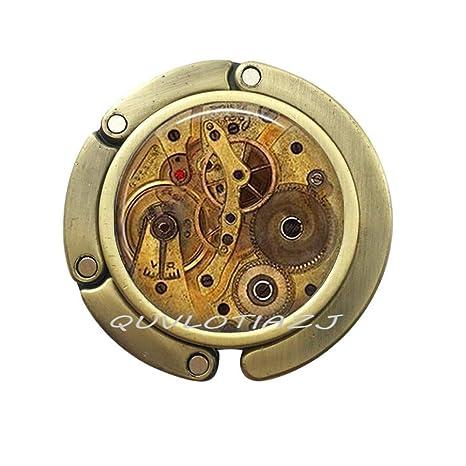Amazon.com: Steampunk - Reloj de pulsera con gancho para ...