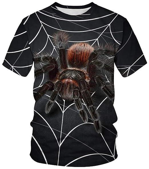 Ocean Plus Unisexo Camiseta de Deporte Cuello Redondo Disfraz con ...