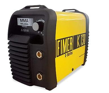 Fimer 5 K1.130.05 Kit soldador inverter MMA electrodo 100