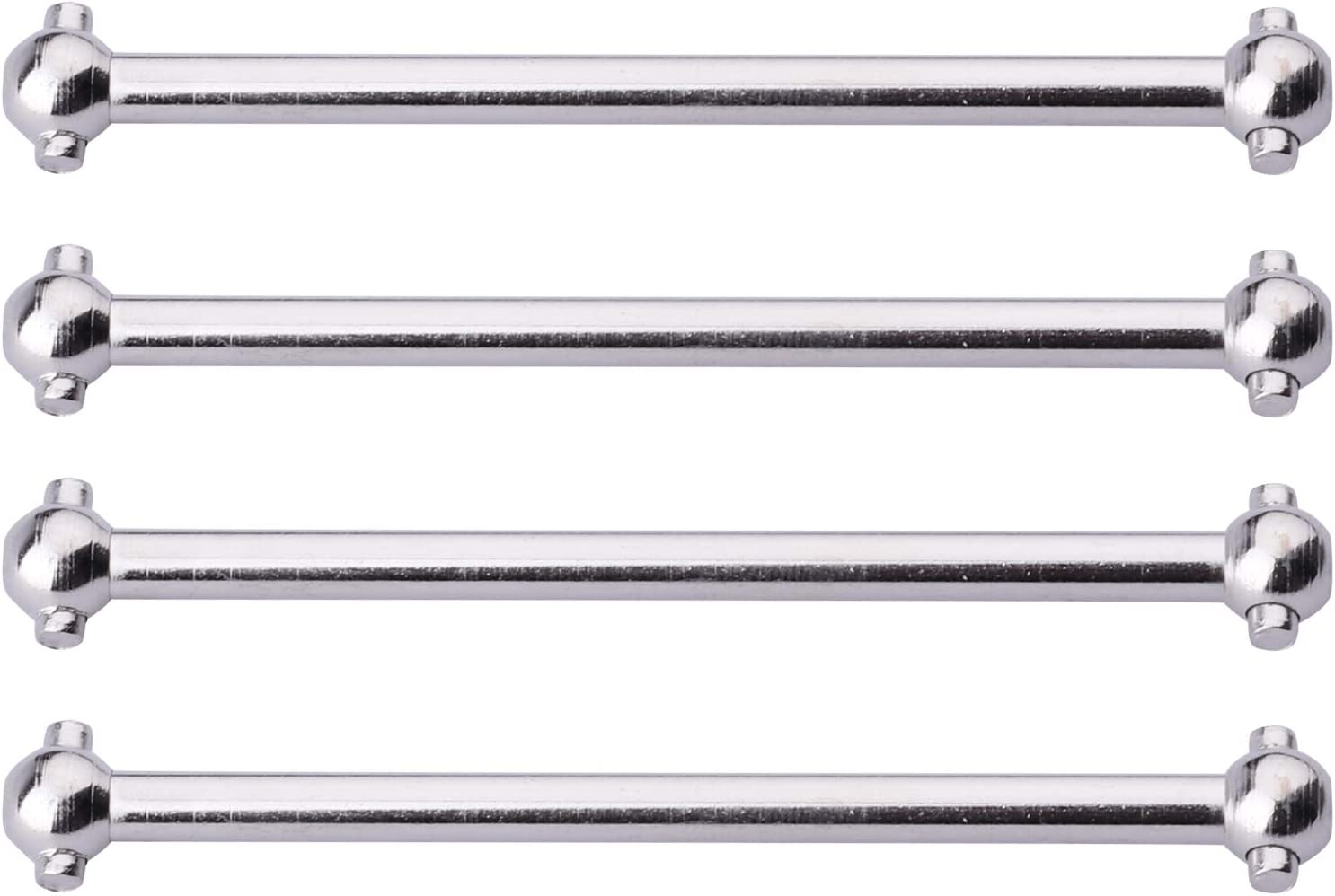 Hobbypark Steel Dogbones Drive Shafts 4-Pack Replace BS213-004 Pro Front /& Rear for 1//10 Redcat Blackout XTE XBE SC