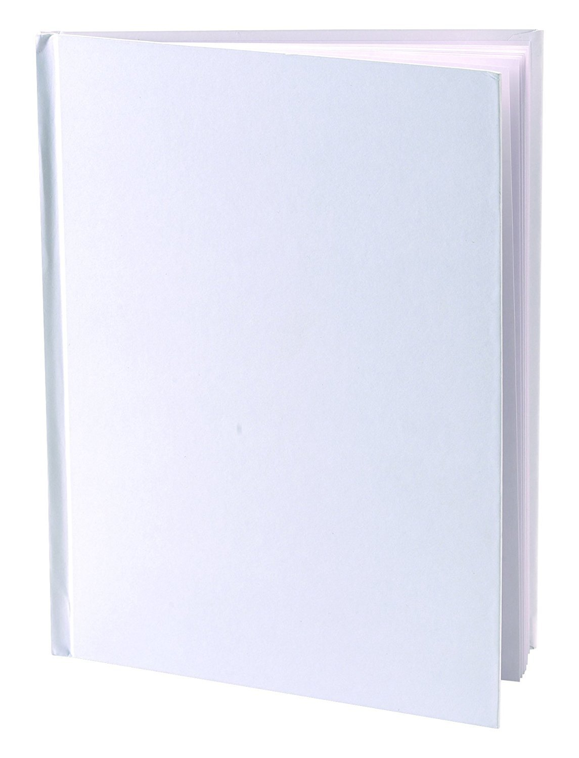"""Amazon.com : Blank Books (Pack of 6) - 6"""" x 8"""" Hardcover with White Pages -  32 Pages (16 sheets) per book : Office Products"""