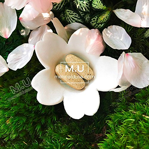 M.U Mermaid USA Whitening Pills for Skin 3 Times Effect of glutathione, Focus on Glowing brightening Smoothy Skin Support Dark spot Remover Acne Scar Remover by M.U (Image #3)