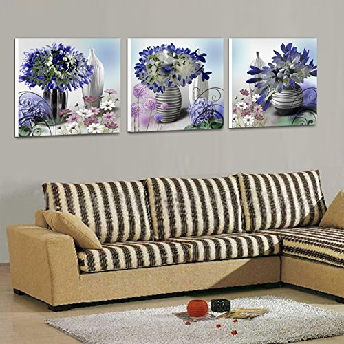 Modern paintings simple decorative painting the bedroom walls triptych paintings sofa living room dining room Crystal fresco-D 50x50cm(20x20inch)