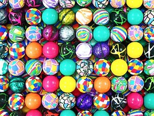 100 superballs high bounce bouncy balls 27 mm